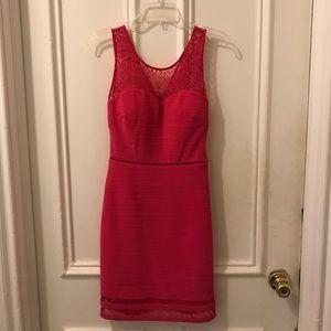 GUESS Size Small hot pink dress